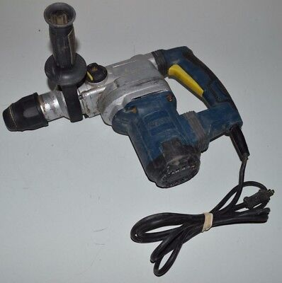 """Chicago Electric Heavy Duty Rotary Hammer Drill 1-9/16"""" SDS Max Type Used Tested"""