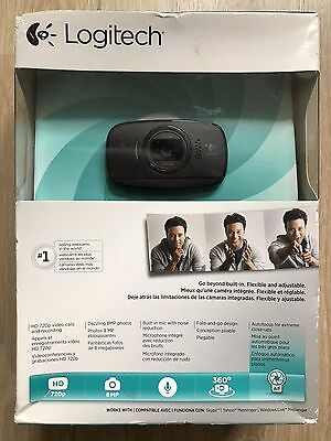 Logitech LGT-C525 - Webcam (8 MP, 1280 x 720 pixels, Auto Focus, PC/Mac) - New