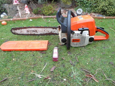 """Stihl 039 Ms390 Professional Chainsaw Just Serviced 18"""" Bar & New Chain"""
