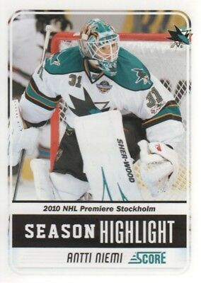 2011-12 Score Parallel Hockey Cards Pick From List