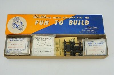 vintage walthers ho passenger car kit lot cad picclick ca. Black Bedroom Furniture Sets. Home Design Ideas