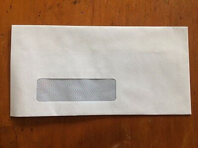 20x PPS DL Window Faced Envelopes Fits A4 Folded Twice