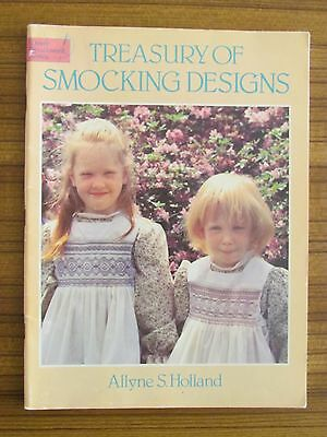 Smocking - Treasury Of Designs Allyne S. Holland Dresses Collars Pillow
