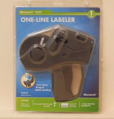 Monarch One-Line Pricemarker Labeler 1131 - MNK925072