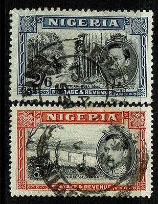 Nigeria SG# 58b and 59a, Used -  Lot 030117