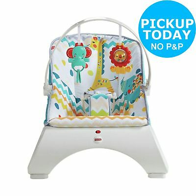 Fisher-Price Colourful Carnival Comfort Curve Bouncer