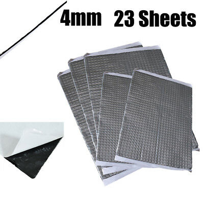 375mm x 270mm 4mm Extra Bulk Pack 23 Sheets Car Deadening Sound Proofing Mat