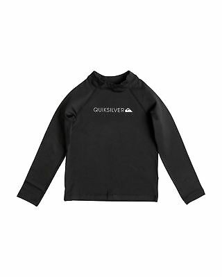 NEW QUIKSILVER™  Boys 2-7 Heater Long Sleeve Rash Vest Boys Children