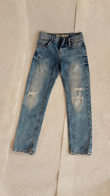 Jeans Hose Kinder Gr. 158 Destroyed Look Jungen