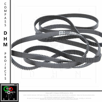 Closed toothed belt 2GT 6mm 1350mm/675 teeth timing belt power transmission CNC