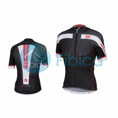 New Castelli Cycling Free Air 4.0 Jersey FZ Full Zip Men's Black M-XXL