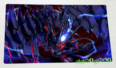F2229 Free Mat Bag Yugioh Trading Card Game Playmat Red-Eyes Zombie Dragon
