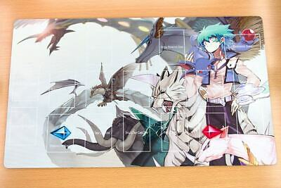 F2231n Free Mat Bag Yugioh Trading Card Game Playmat Jesse Crystal Beast Zones