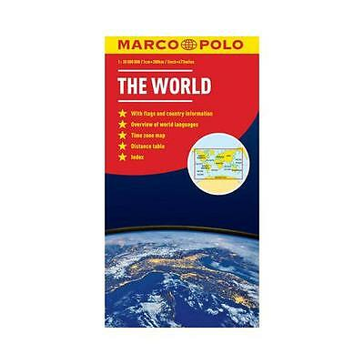 World Marco Polo Map by Marco Polo Travel Publishing