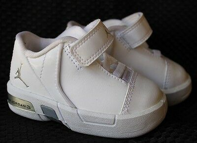 competitive price b228a e9a61 toddler nike air jordan te 3 low shoes 453639 102 size 3c euc