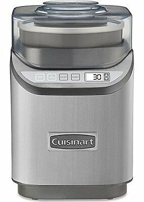 Cuisinart Cool Creations Ice Cream Maker - 2 Quart - Brushed Chrome (ice-70)