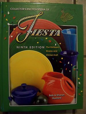 Hb Identification/price Guide Book On Fiesta Pottery Riviera Harlequin Plus