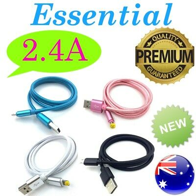 Fast Charger Cable for Samsung s7 6 5 HTC Micro USB Type C Lead iPhone Data Cord