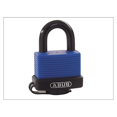 ABUS Mechanical 70IB/35 35mm Brass Marine Padlock Stainless Shackle Carded 4790