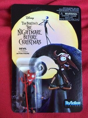 The Nightmare Before Christmas Funko Christmas Devil Figure Reaction
