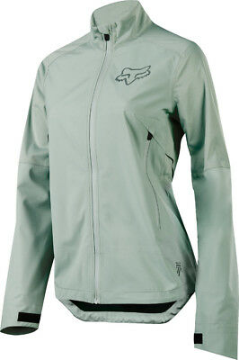 Fox Attack Womens Water Jacket 2017 Sage