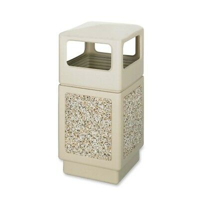 Safco Indoor/outdoor Square Receptacles 9472TN