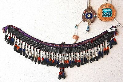 Vintage Uzbek Tassel, Hair Piece, Head Dress, Hair Ornament, Ethnic Belly Dance