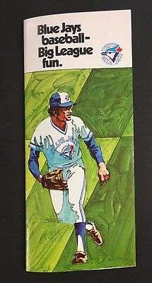 1977 Toronto Blue Jays Baseball MLB Inaugural Season Ticket Holder Brochure