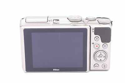 Nikon Coolpix A900 20.0MP 4K HDDigital Camera w/ 35x Optical Zoom & WiFi -Silver