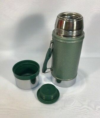 Stanley Aladdin No. A-1350B 24 oz. Wide Mouth Green Hot/Cold Thermos w/Handle