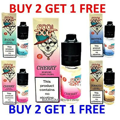 Shisha Refill E-Liquid Vape Juice Oil ELiquid 10ml in 0mg, 6mg, 12mg & 18mg Nic