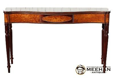 Exquisite Hand Crafted Sheraton Style Sofa Games Table