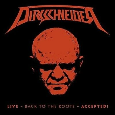 Dirkschneider -Live-Back To The Roots-Accepted! (Bd+2Cd Digi) 2 Cd+Blu-Ray New+