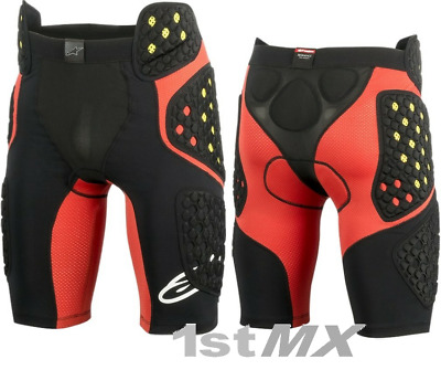 Alpinestar Sequence Pro Motocross MX Race Impact Shorts Adult Large 32-36""