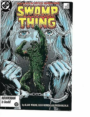 Swamp Thing #51 (1986 DC) 1st Print Alan Moore VF+