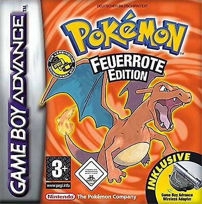 Pokemon Feuerrote Edition | Gameboy Advance SP | GBA SP | Nintendo DS | DS Lite