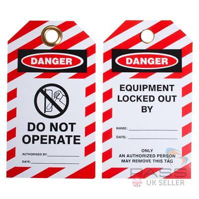 Do Not Operate Switch Symbol - Pack Of 10