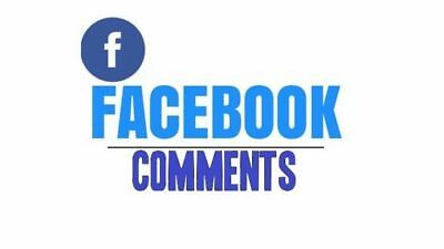 65 USA Facebook Comments real high quality to your fanpage photo, Post, video...