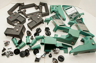 Box Lot Of 47 Bell & Howell 2580, 2590 16mm Sound Movie Projector Parts