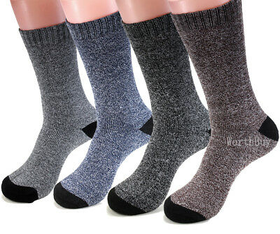 New 3 Pairs Mens Heavy Duty Winter Warm Thermal Crew Work BOOTS Socks Size 9-13