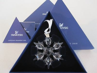 Swarovski 2010 CHRISTMAS L.E. ANNUAL SNOWFLAKE ORNAMENT, 1041301 MIB NEW
