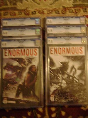 Enormous 1, 2, 3, 4, 5, 6 Volume 1 Reg. And  Variant Set All Cgc 9.8 On Sale!