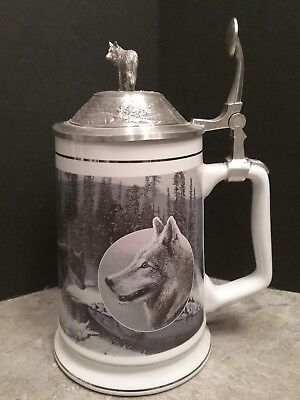 "WOLF STEIN LONGTON CROWN ""Winter Vigil"" LORD OF THE WILDERNESS COLLECTION beer"