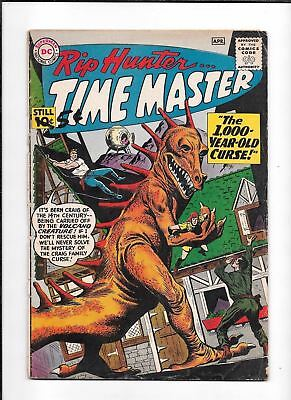 Rip Hunter Time Master #1 ==> Gd+ 1St Appearance In Series Dc Comics 1961