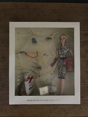 Charlotte Olympia Barbie Doll 2016 Gold Label Brand-New