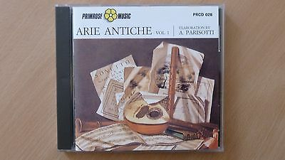 Various – Arie Antiche - Vol.1    CD ITALY 1991 N.MINT FREE SHIPPING