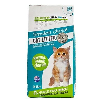 NEW Breeders Choice Litter 30 Litres