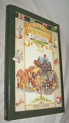 Collecting David Winter Cottage Book w/unclipped dj-248 pages-1989