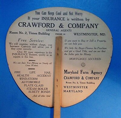 Westminster, Carroll Co., MD Adv Fan CRAWFORD Company(17may36)