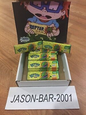 Rugrats Reptar Chocolate Bar Nickelodeon Fye Exclusive Turns Tongue Green 90s
